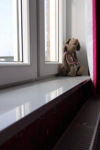 Composiet vensterbank plaatsen