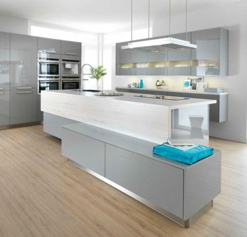 Hoogglans moderne keuken