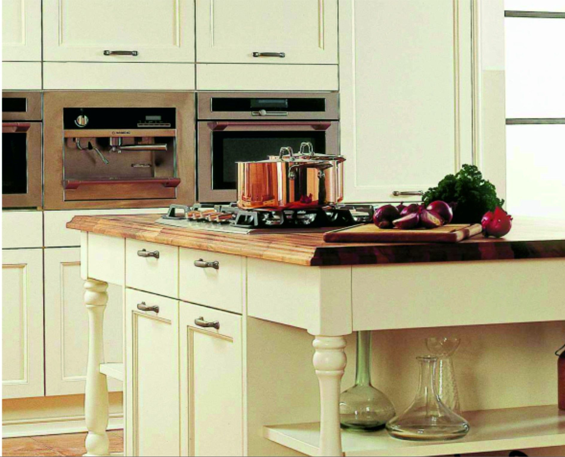Keukens van de Jong Natuursteen te Gorredijk, keukens geheel op maat