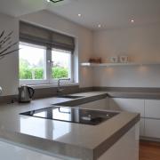 Hoogglans witte keuken Drachten