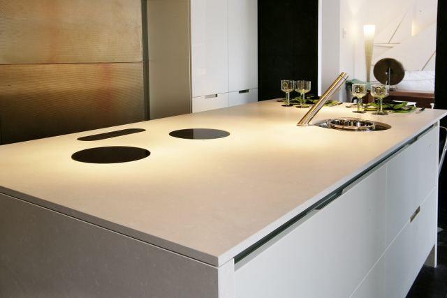 Modern keukenblad de jong natuursteen gorredijk heerenveen